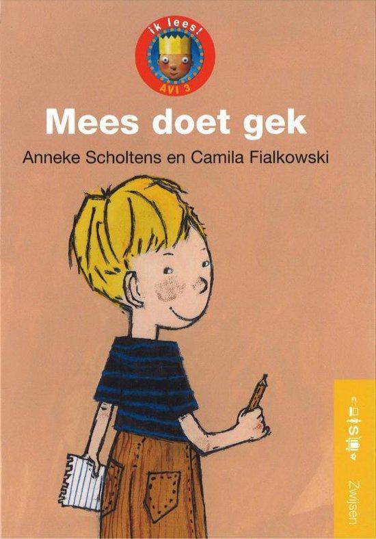 Boek cover Ik lees serie 1 Mees doet gek van Anneke Scholtens (Hardcover)