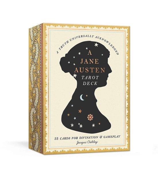 Boek cover Jane Austen Tarot Deck van Jacqui Oakley (Paperback)