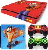 Crash Bandicoot - PS4 Slim skin
