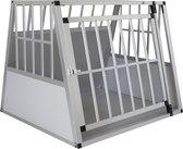 4animalz Trapeze Silver medium Bench voor 1 grote hond - 81x91x74 cm
