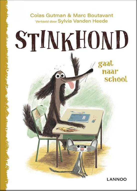 Stinkhond gaat naar school - Colas Gutman  