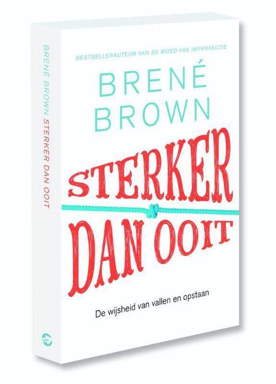 Boek cover Sterker dan ooit van Brené Brown (Paperback)