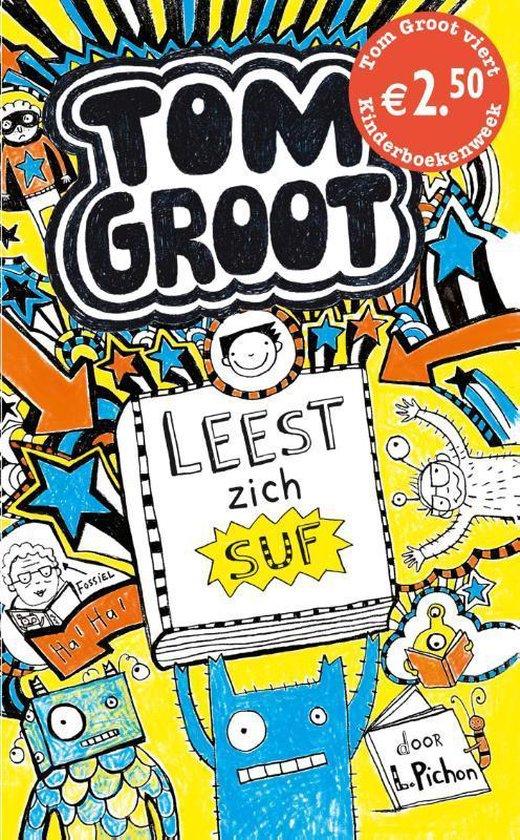 Tom Groot - Tom Groot leest zich suf - Liz Pichon | Readingchampions.org.uk