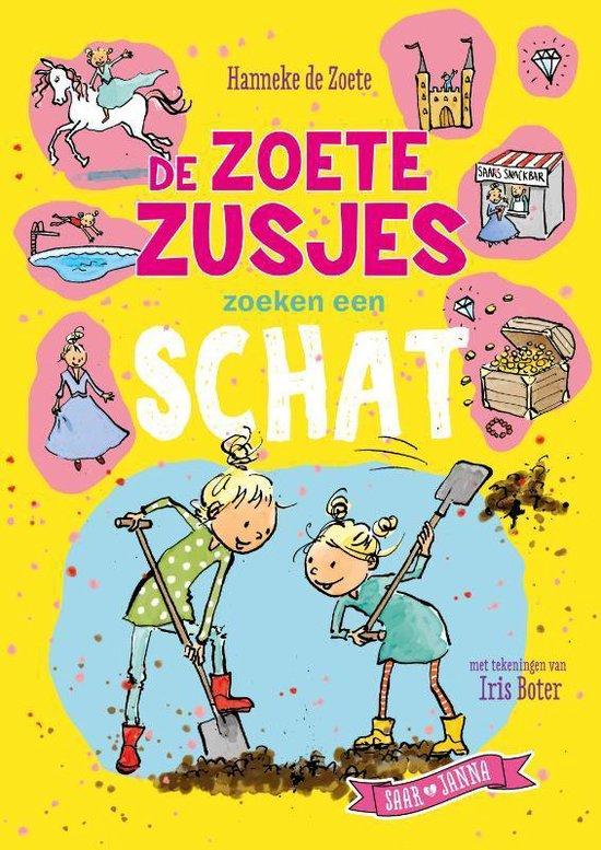 Boek cover De Zoete Zusjes zoeken een schat van Hanneke de Zoete (Hardcover)