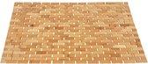 Badmat Bamboe 50x80cm – Anti Slip