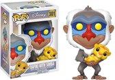 Funko Pop! Disney: The Lion King Rafiki With Simba - Verzamelfiguur