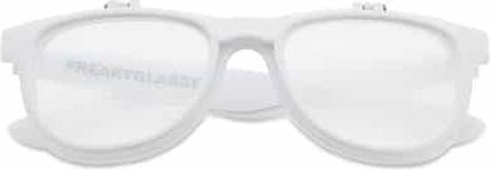 ® | Flipstyle spacebril wit | dubbel effect