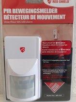 Red Shield draadloze bewegingsmelder WS-103 voor de Red Shield draadloze alarm set WS-100.
