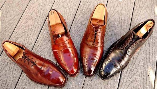 Palc zelfglans schoen creme - zwart - PALC