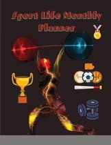 Sport Life Monthly Planner