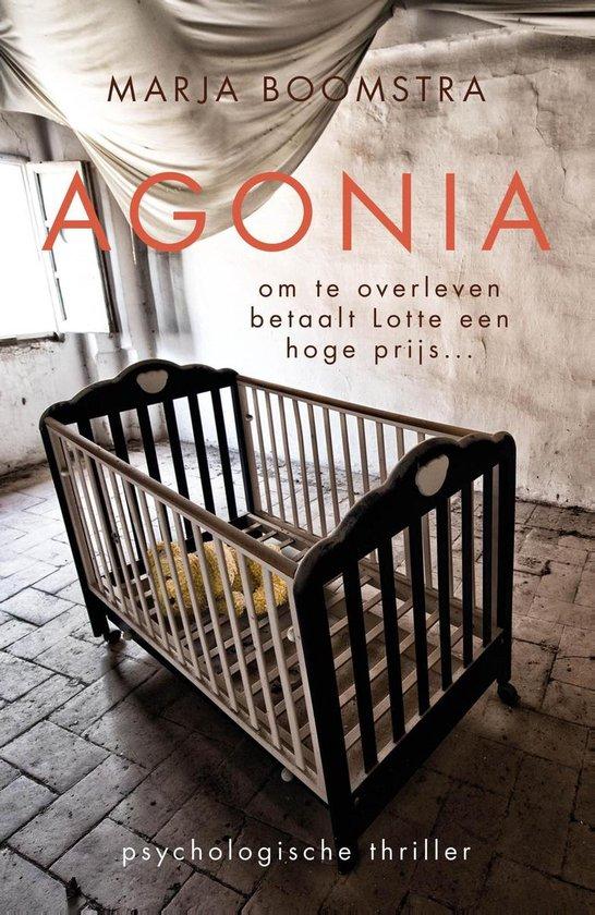 Boek cover Agonia van Marja Boomstra (Onbekend)