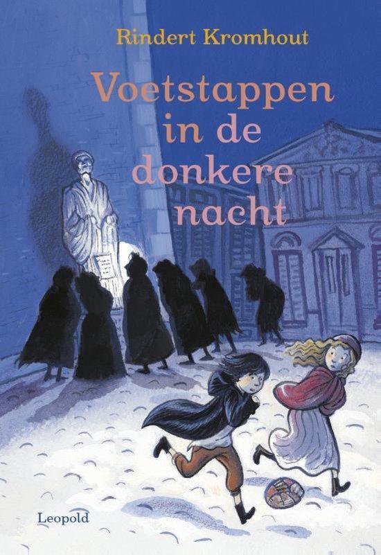 Boek cover Voetstappen in de donkere nacht van Rindert Kromhout (Hardcover)