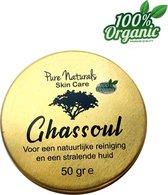 Ghassoul klei 50 gr - Biologische - Clay - Poeder - Gezichtsmasker - Pure Natural
