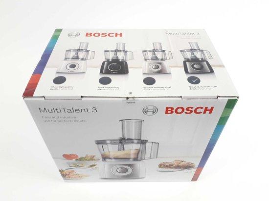 Bosch MCM3501M MultiTalent 3 - Foodprocessor - zwart