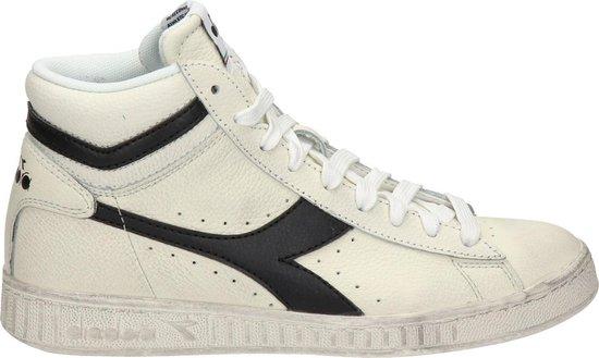 Diadora Game L High  sneaker - Wit zwart - Maat 37