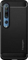 Spigen Rugged Armor Xiaomi Mi 10 / 10 Pro Hoesje Matte Black