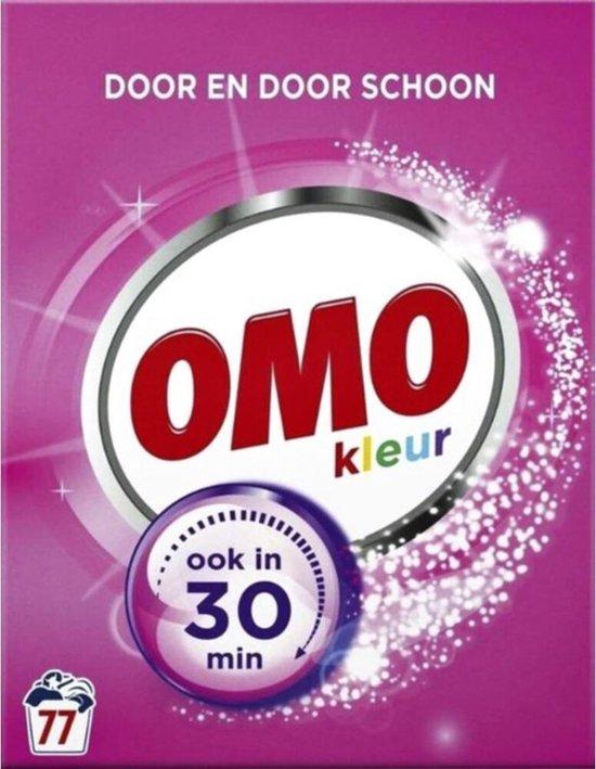 Omo Kleur Waspoeder - 77 wasbeurten - 4,389 kg - Wasmiddel