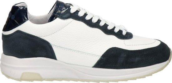 Reheb Horos heren sneaker - Wit blauw - Maat 40