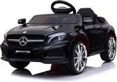 Mercedes GLA45, 12 volt kinderauto, met soft-start en muziek! - accu auto voor kinderen - elektrische kinderauto + afstandsbediening