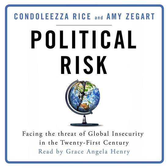 Boek cover Political Risk van Condoleezza Rice (Onbekend)