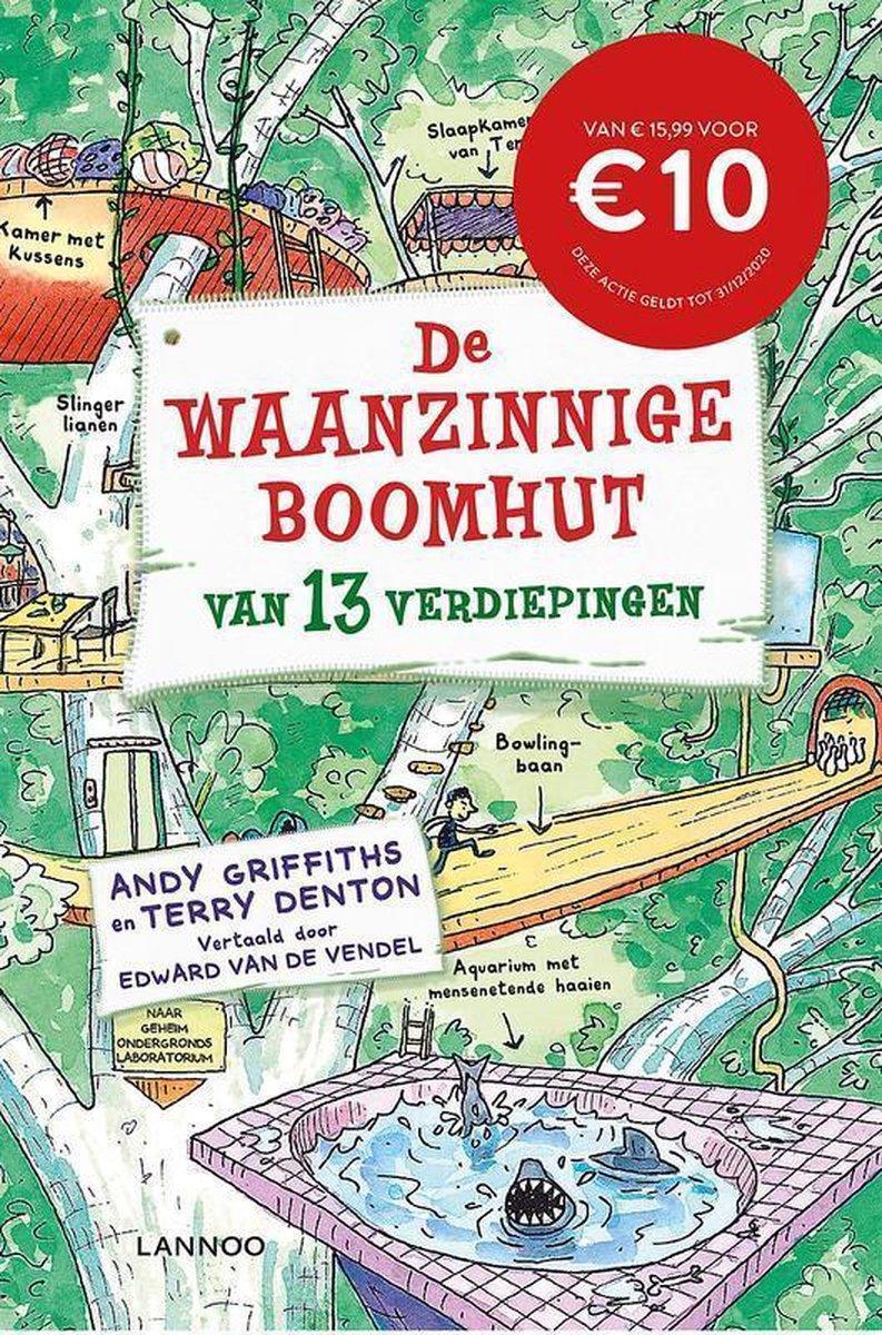 De Waanzinnige Boomhut 1 - De waanzinnige boomhut van 13 verdiepingen - Andy Griffiths