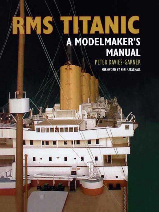 Boek cover RMS Titanic van Peter Davies-Garner (Onbekend)