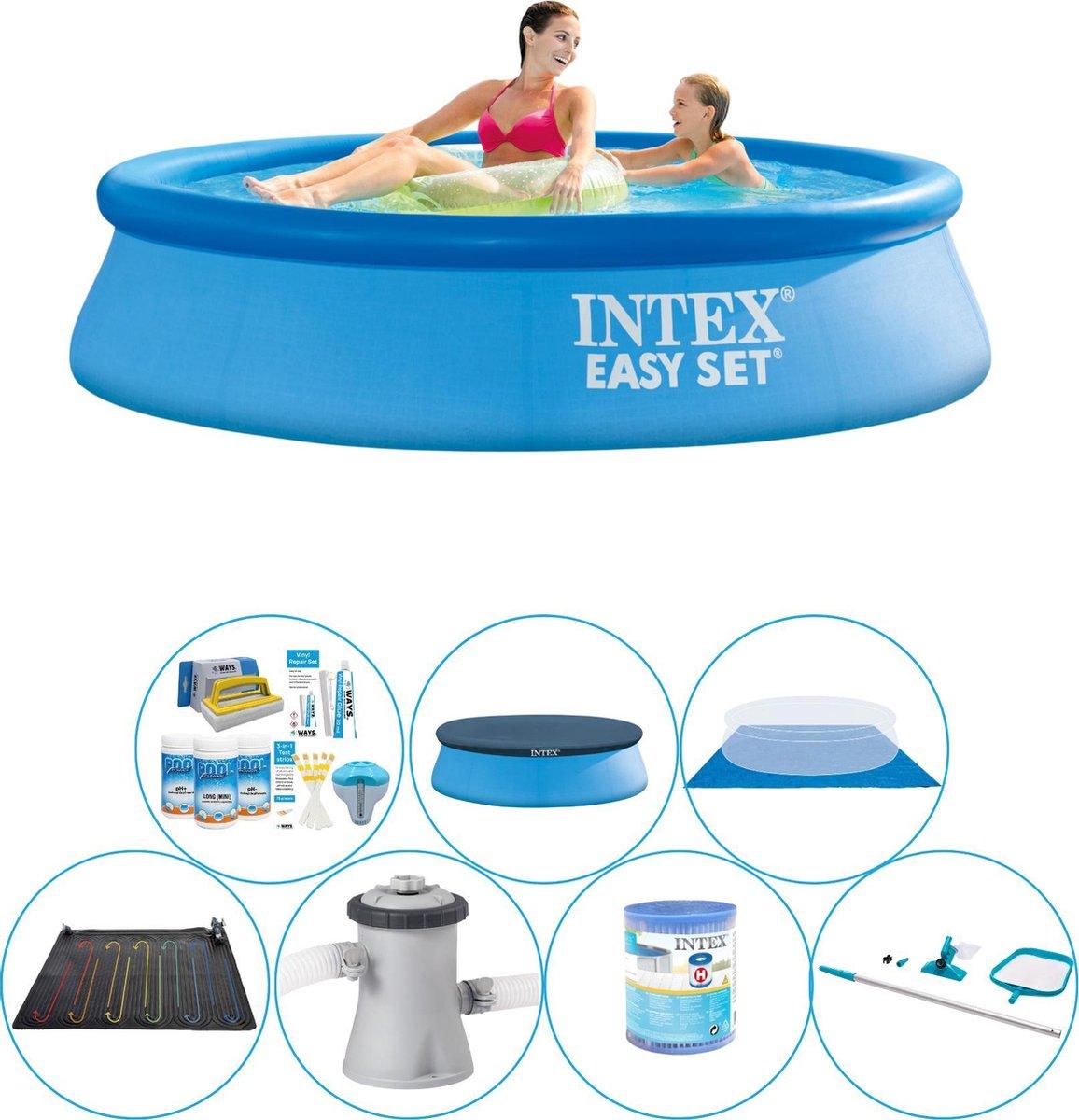 Zwembad Set - Intex Easy Set Rond 244x61 cm