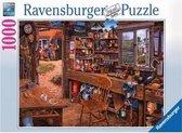 Ravensburger puzzel Opa's schuurtje - legpuzzel - 1000 stukjes