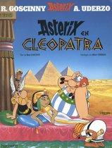 Boek cover Asterix 06. en cleopatra van Albert Uderzo (Onbekend)