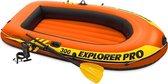 Intex Explorer Pro 300 Opblaasboot - 3 Persoons - Oranje