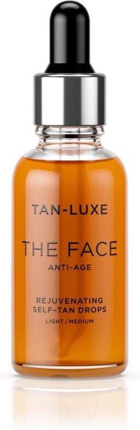 Tan-Luxe - Self Tan Oil Face Anti-Age Light/Medium 30 ml