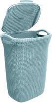 Curver Knit Wasbox - 57L - Misty Blue