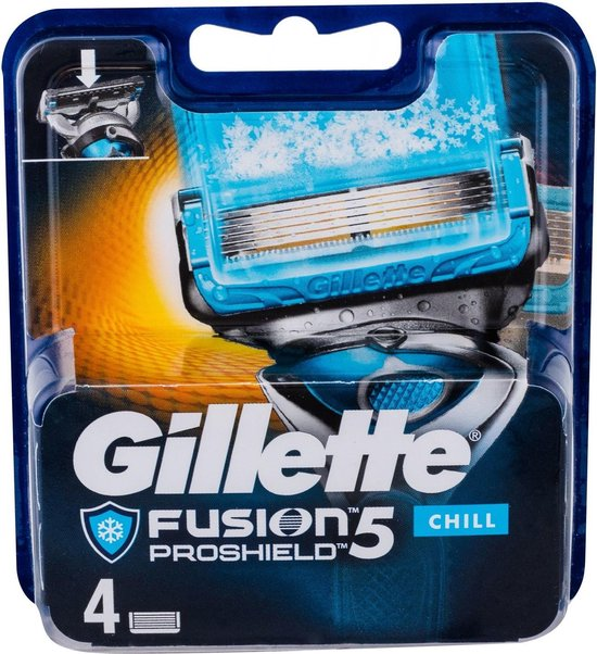Gillette Fusion Proshield Chill 4pc Replacement Blade