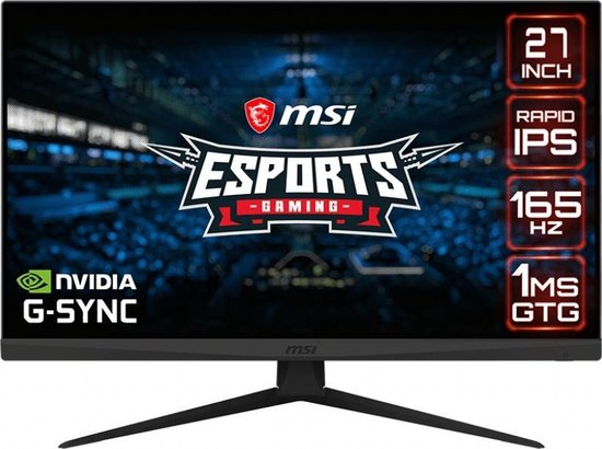 MSI Optix G273QFK - QHD G-Sync IPS Gaming Monitor - 165hz - 27 inch