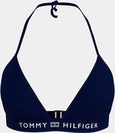 Tommy Hilfiger bikinitop triangel Desert sky - donkerblauw