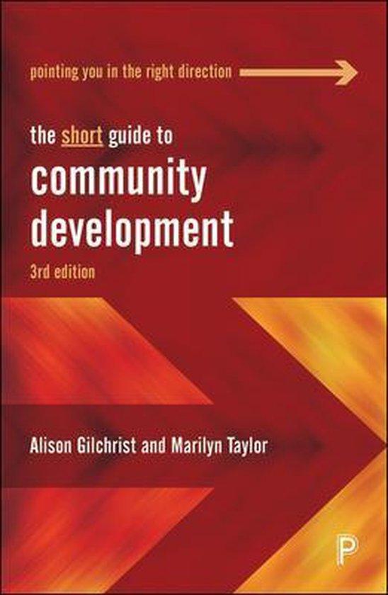 Boek cover The Short Guide to Community Development van Alison Gilchrist (Paperback)