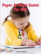Paper and Pencil Games for Kids
