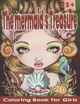 Coloring Book for Girls - The mermaid's Treasure