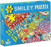 Smiley Puzzel - zoek en vind op het strand