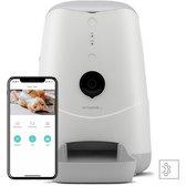Pettadore Nutri View - Voerautomaat Kat/Hond - Smart Met Camera En App - Wit - 3.7 L