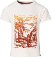 Noppies T-shirt Lanbrooke - White Sand - Maat 122