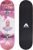 """Apollo Kinderen Skateboard Skaterprincess 28"""""""