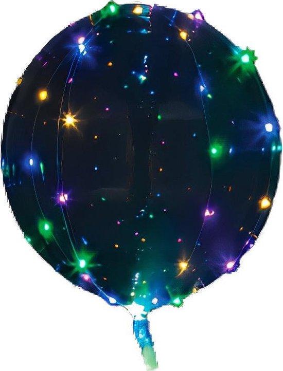 Amscan Led-ballon Clearz Crystal Clear 46 Cm Folie Disco