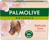 Palmolive Nat.Zeep Almond - 4 stuks