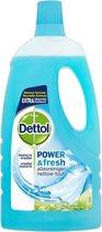 Dettol Power & Fresh - Allesreiniger - Katoenfris - 1 liter