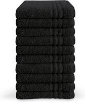 Byrklund Handdoek - Zwart - 10 stuks - 50x100cm
