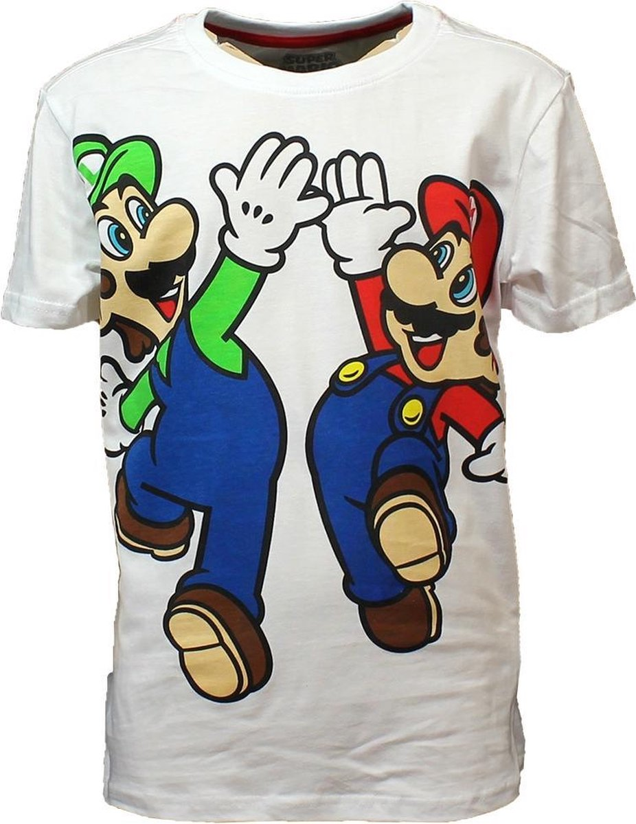 Super Mario - Mario & Luigi Boy s T-shirt - 122/128