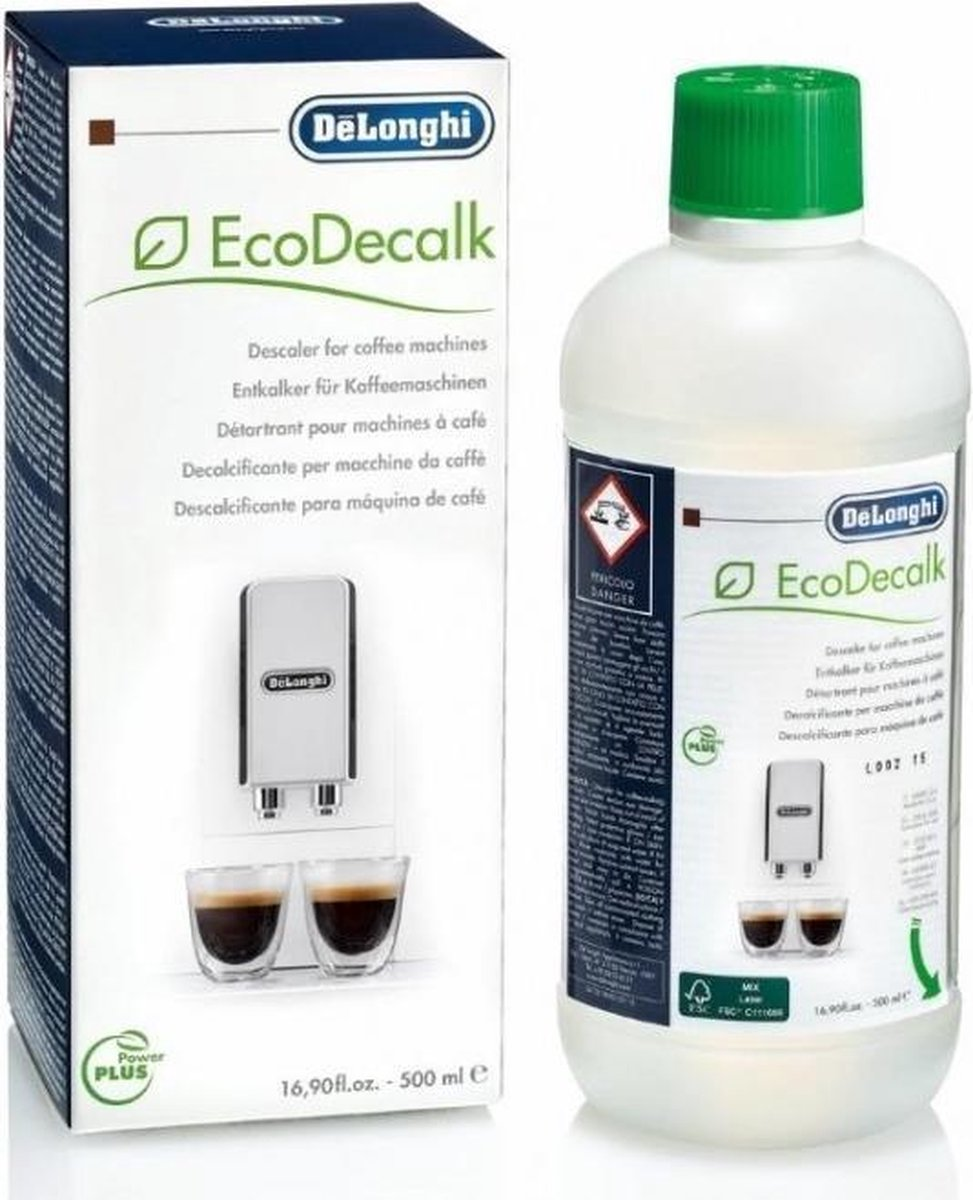 De'Longhi DLSC500 EcoDecalk - Koffiemachineontkalker - 500ml
