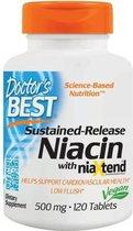 Real Niacine 500 mg (120 tabletten) - Doctor's Best