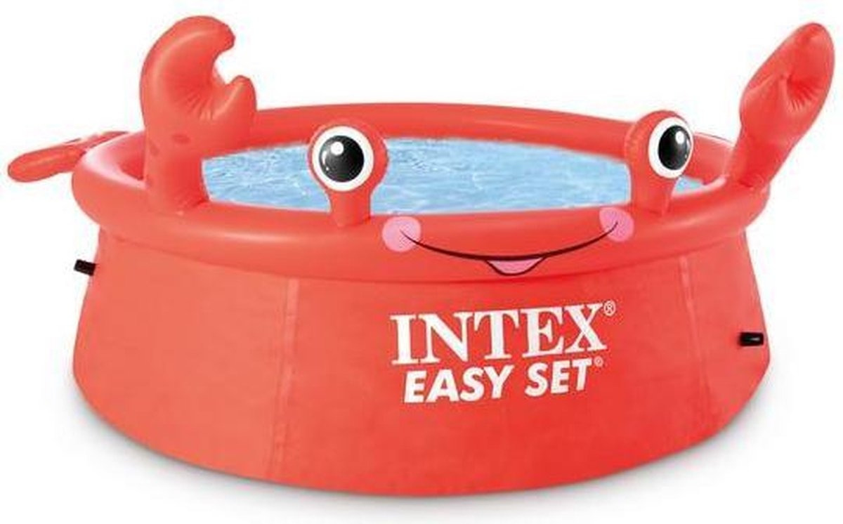 Intex Zwembad Easy Set Happy Crab 183 x 51 cm
